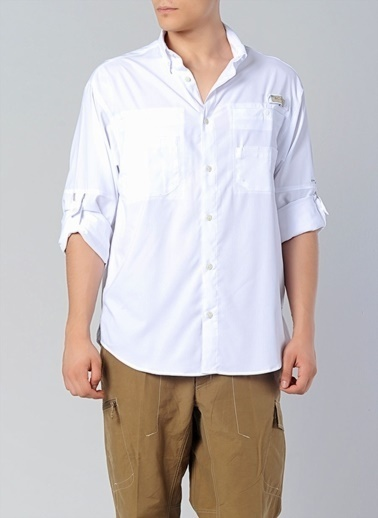 Columbia Columbia FM7253 Tamiami II Ls Shirt Gömlek Beyaz